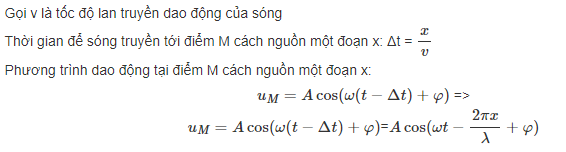 phuong trinh truyen song co
