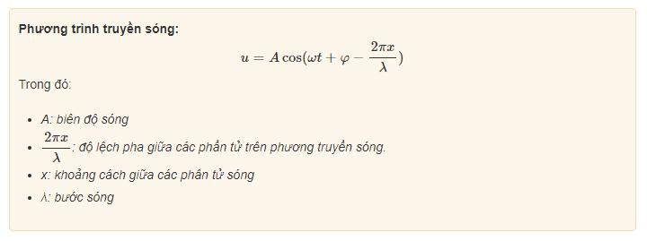 phuong trinh truyen song