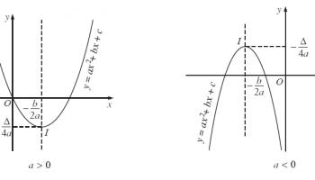 Parabol là gì ? Parabol có hình dạng gì ? Toán lớp 9, Lớp 10