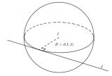 Phương trình mặt cầu tâm I, bán kính R trong không gian ? Lý thuyết và bài tập
