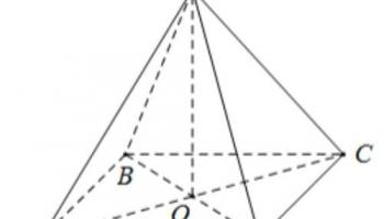 Công thức tính Thể tích khối chóp tứ giác đều là gì ? Thể tích có cạnh đáy bằng a ?