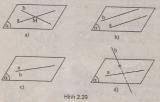 Vị trí tương đối của 2 đường thẳng trong không gian lớp 9, lớp 10, lớp 11