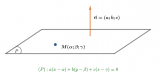 Phương trình mặt phẳng trong không gian oxyz ? Lý thuyết và phân dạng bài tập